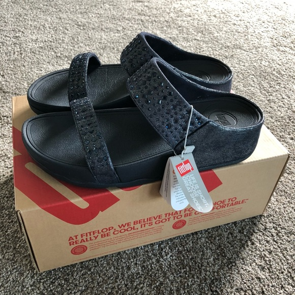 774b057ae05 🎈SALE 🎈NWT Fitflop Novy Slide Sandals